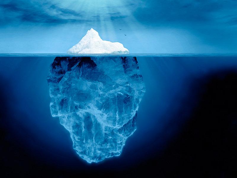 Risultati immagini per punta iceberg postura