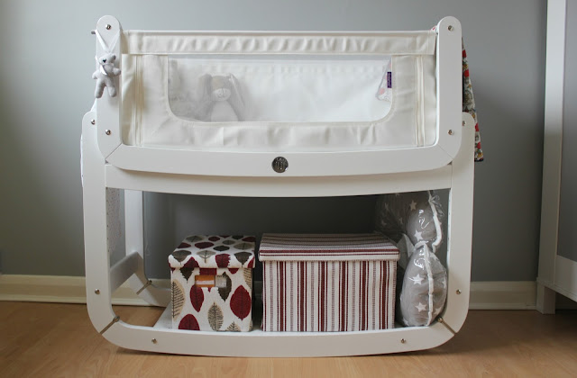 A review of SnüzPod2 3-in-1 Bedside Crib Eco White