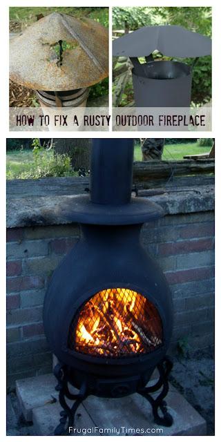 fix outdoor rust