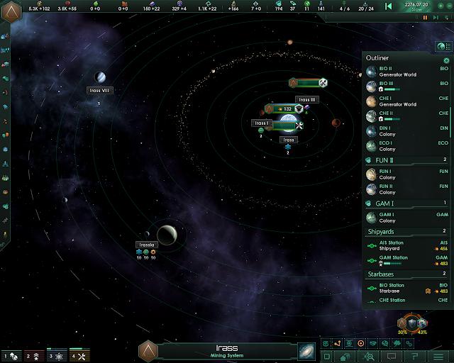 Star System | Stellaris: MegaCorp screenshot