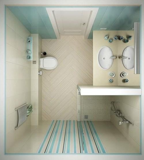 desain kamar mandi ukuran 2x2