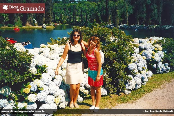 Ana Paula e Márcia no Lago Negro