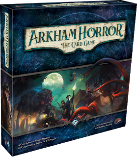 Box art for Arkham Horror: The Card Game