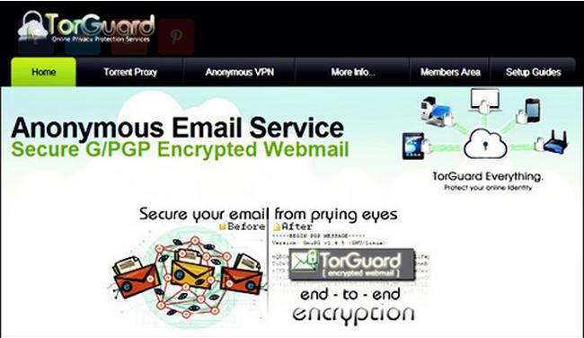 enviar correos anonimos