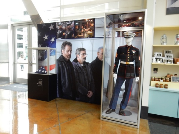Last Flag Flying movie costume exhibit