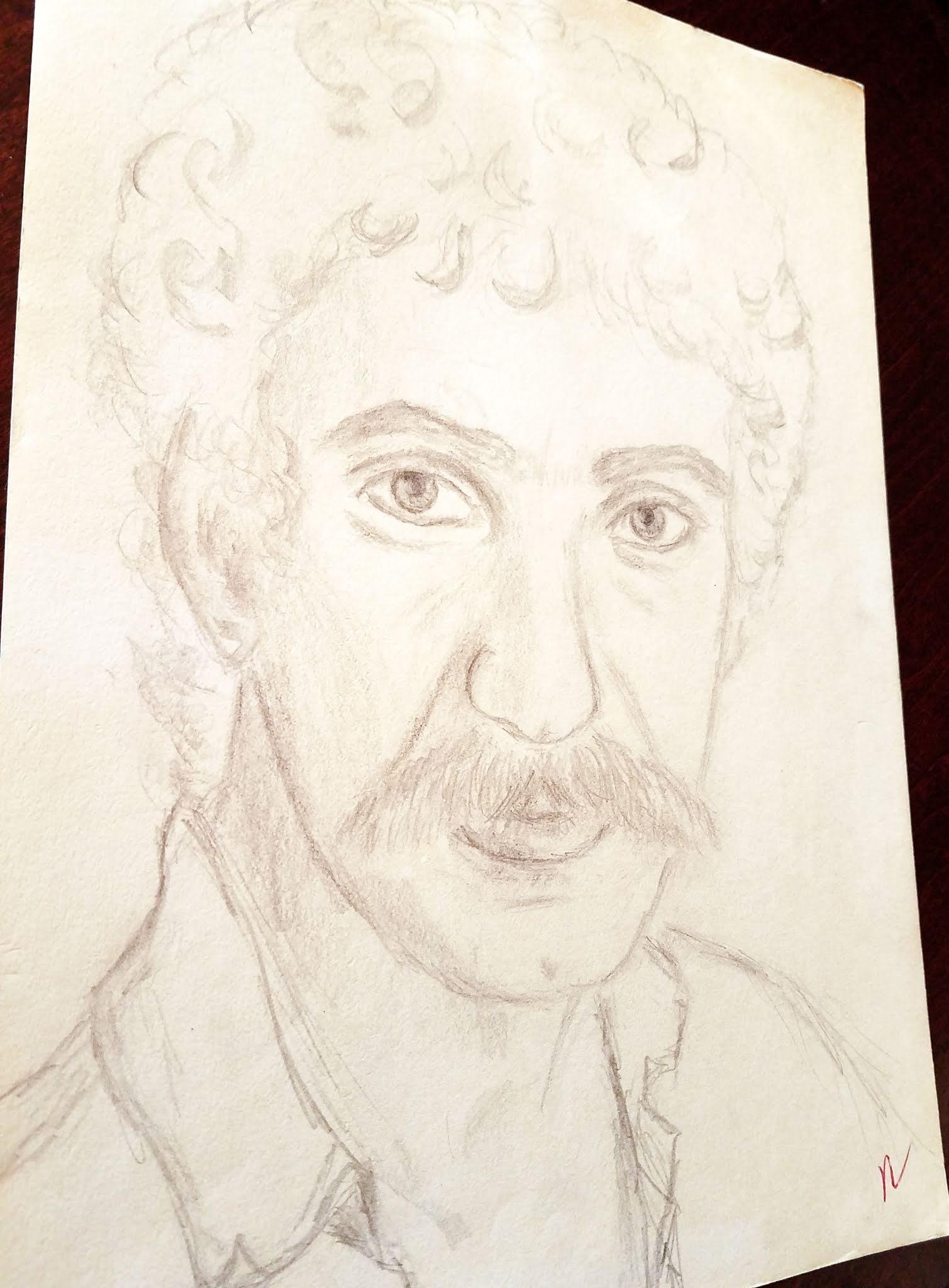Drawing Portraits ~ anartfulmom.com