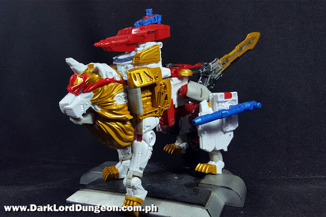 Leo Prime Lion mode