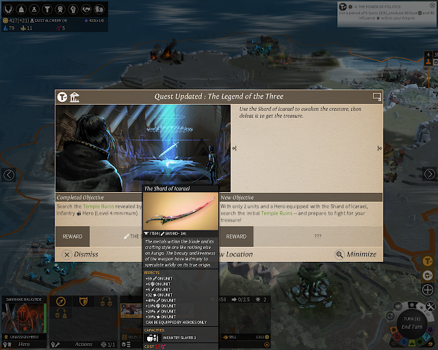 Quests | Endless Legend Game Screenshot