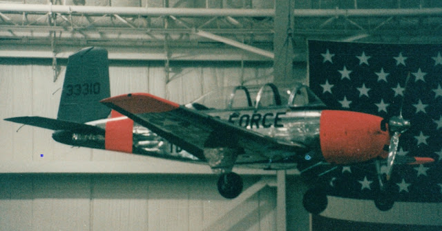 Air Force Beech T-34A Mentor trainer