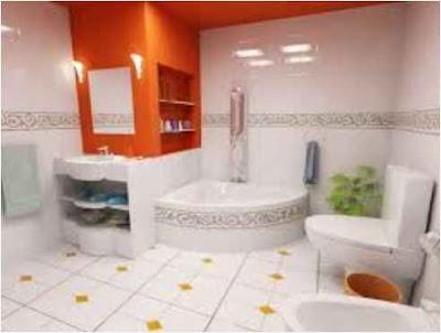 Cute Bathroom for Apartments
