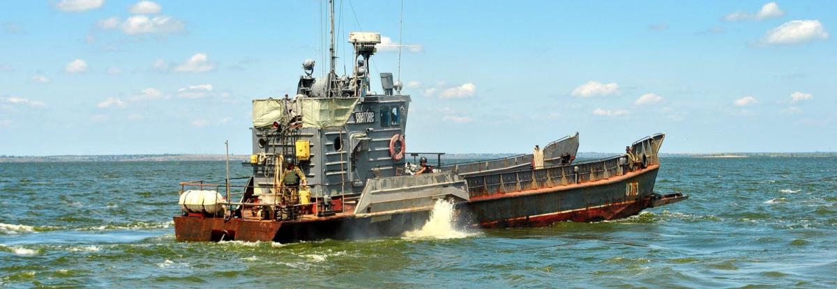 Десантний катер ВМСУ Сватове отримає новий корпус