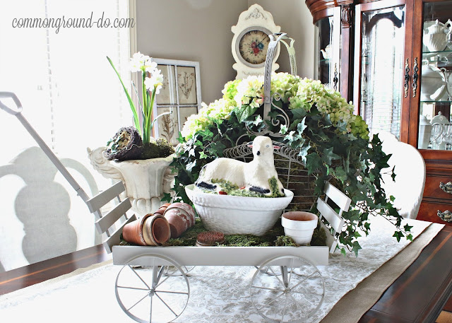 common ground : Paperwhites in the Christmas Entry