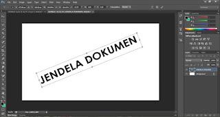Mengenal Bagian Lembar Kerja di Photoshop