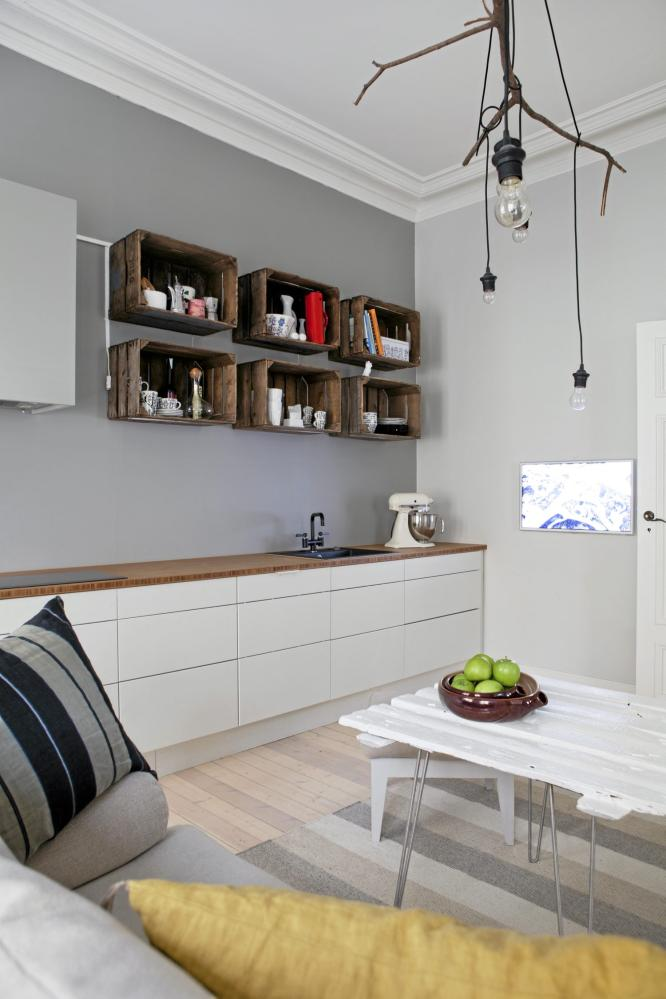 scandinavian deko kitchen diy. Black Bedroom Furniture Sets. Home Design Ideas