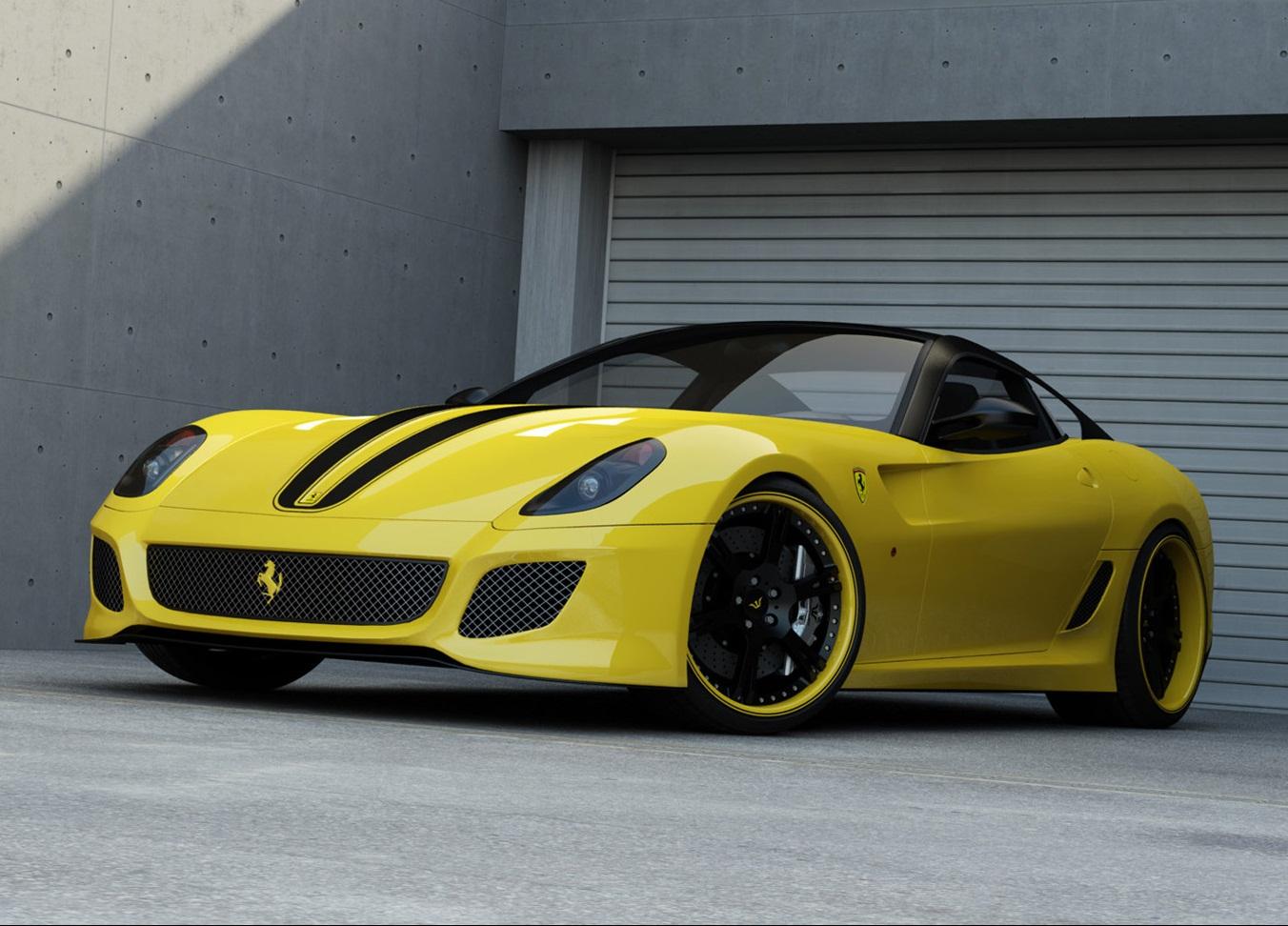 Sport Car Garage Wheelsandmore Ferrari 599 Gto 2012