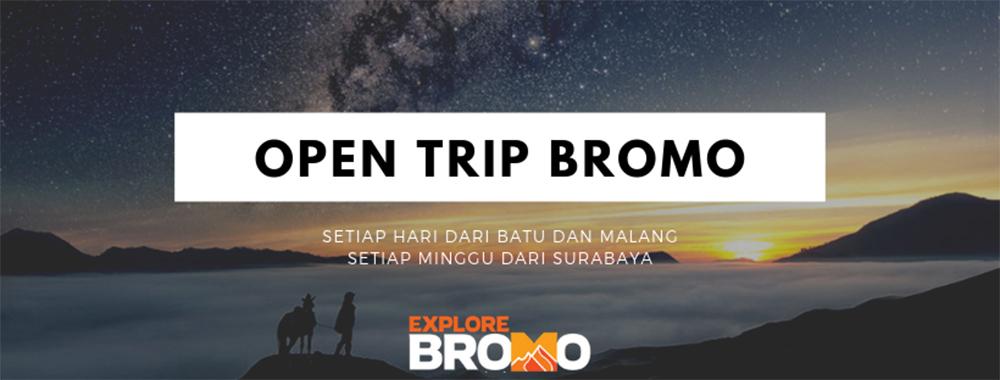 open trip gunung bromo