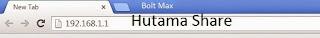Cara Merubah Nama dan Password Bolt Huawei Max