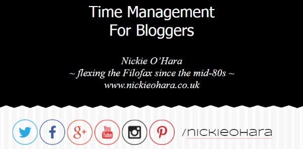 time management, keynote speech, BlogOnMOSI, Nickie O'Hara