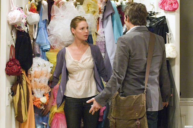 '27 Dresses': Katherine Heigl Plays Always a Bridesmaid, Never the Bride. A review of the 2008 comedy. All review text © Rissi JC.