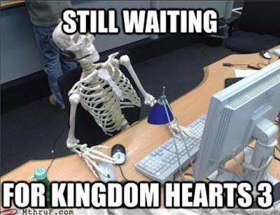 Kingdom Hearts 3 FUNNY MEMES