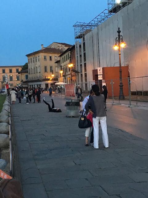 невъзможните снимки в Пиза