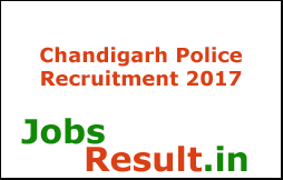Chandigarh Police Recruitment 2017