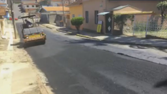 Prefeitura de Pinhal inicia o recapeamento de ruas da região central