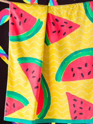 Kas toalla de playa Watermelon