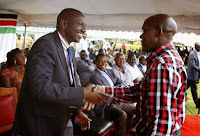 KHALWALEE RUTO - See what RUTO promised to do for KHALWALE? No wonder the bull fighter has literally turned into the DP's sycophant and would do anything for him