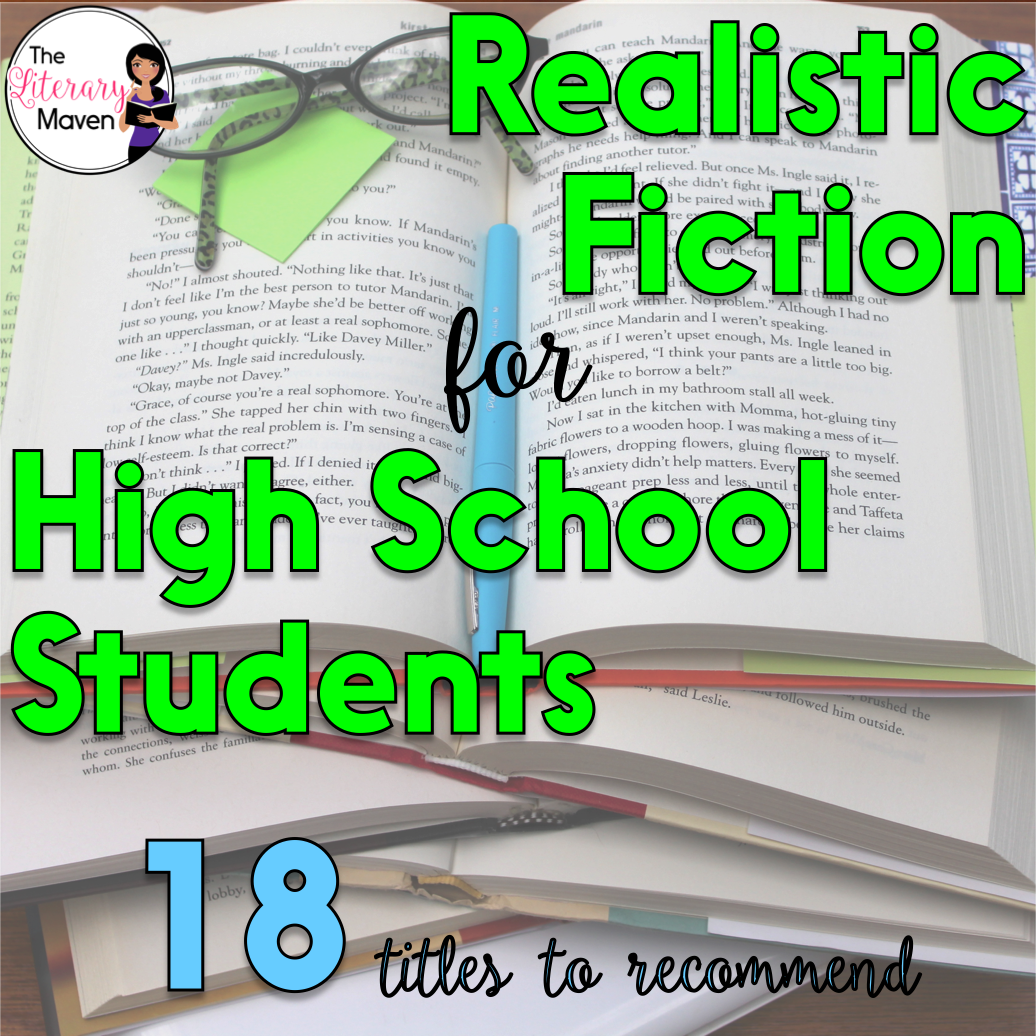 Literature Fiction: 18 Realistic Fiction Titles To Recommend To Your High