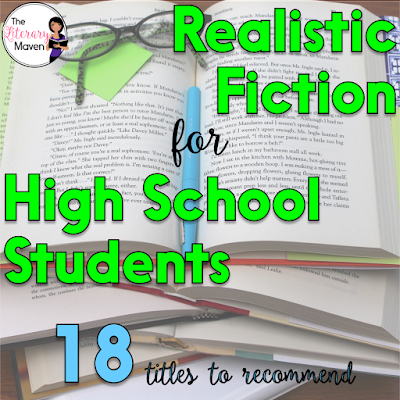 Teachers' lives are hectic, and though many of us love to read, we don't always have the time to do it, which can make it tough to make recommendations to students or to select titles for our classroom library. Here's 18 realistic fiction titles that I've recently read and would recommend to high school students.