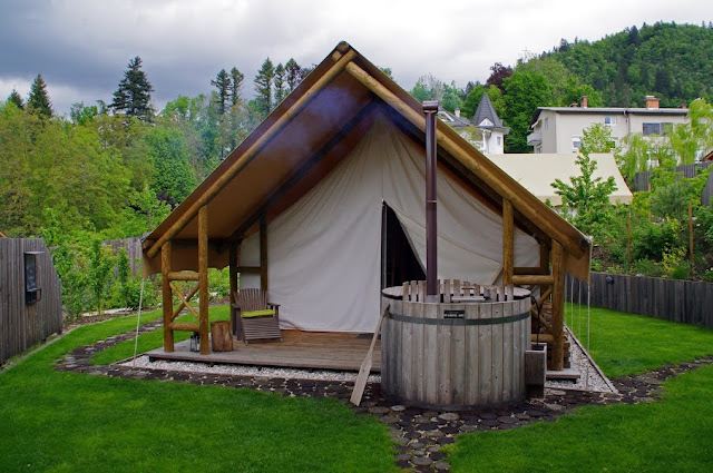 Glamping in Lake Bled Slovenia