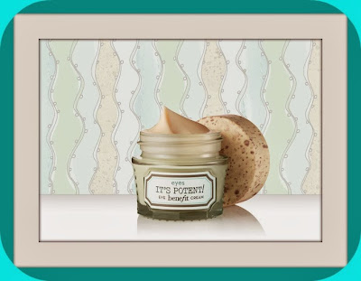 Love me b right, box collector Benefit - It's potent eyes cream - Blog beauté Les Mousquetettes