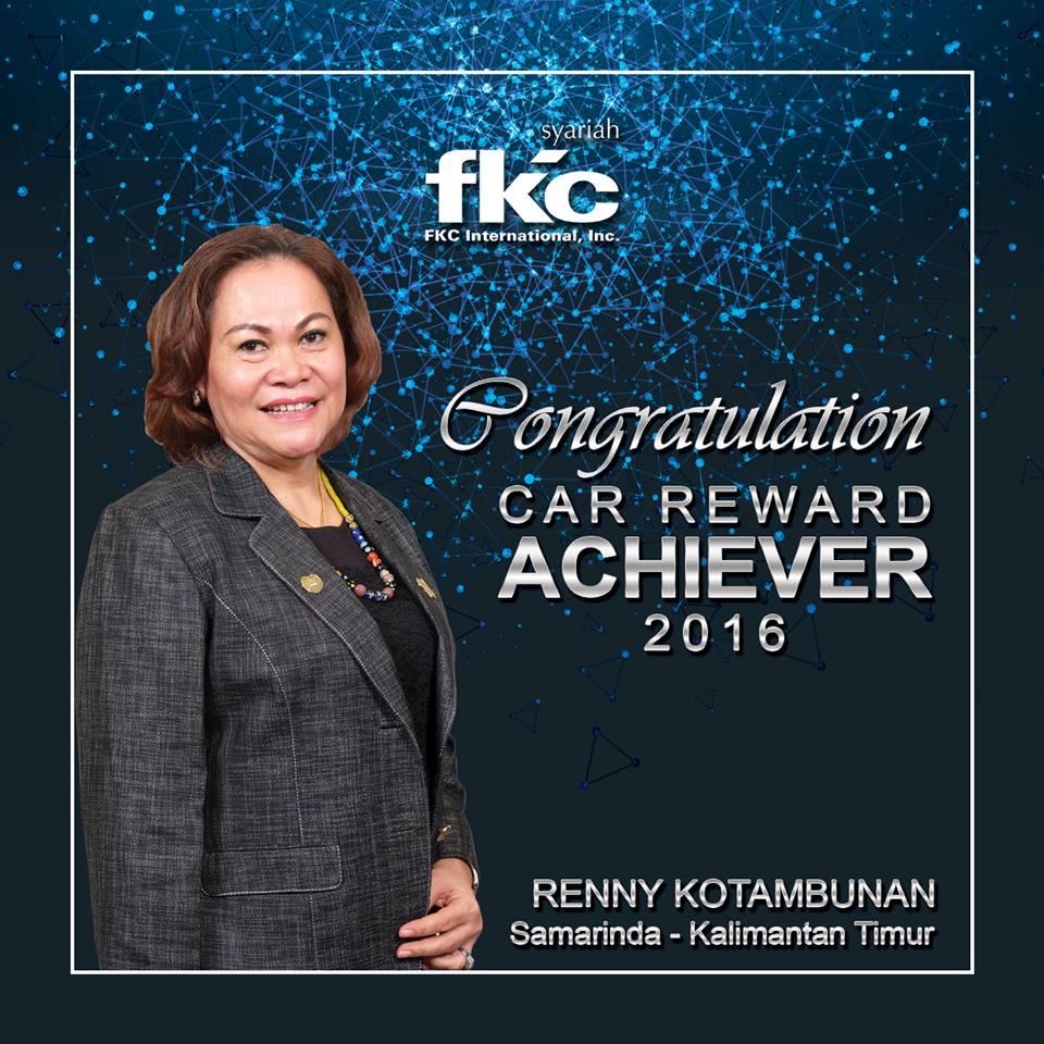 Bisnis Fkc Syariah - Reward Renny Kotambunan