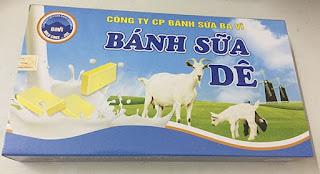 Bánh sữa Dê Ba vì 170g