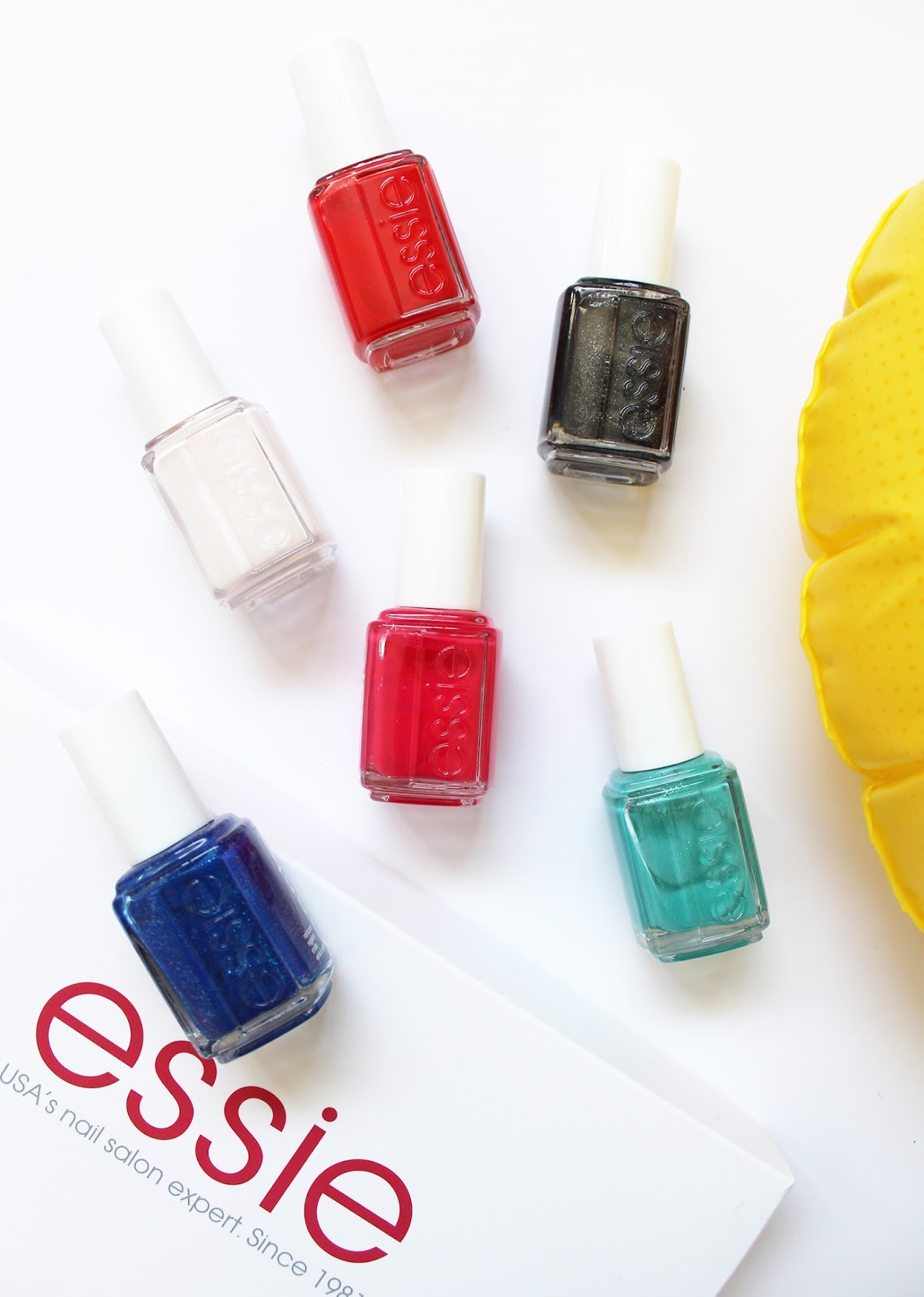 ESSIE | Summer Nail Polish Collection - Review + Swatches - CassandraMyee