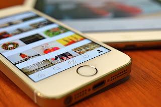 membuat atau menyambungkan foto grid instagram