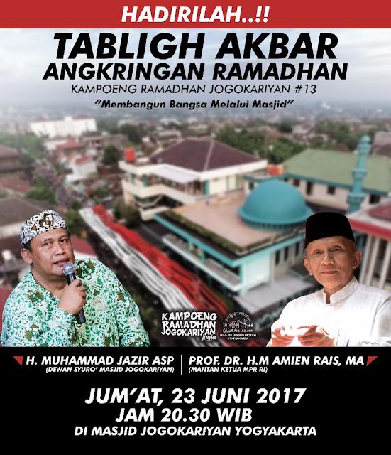 Agenda Kampoeng Ramadhan Masjid Jogokariyan