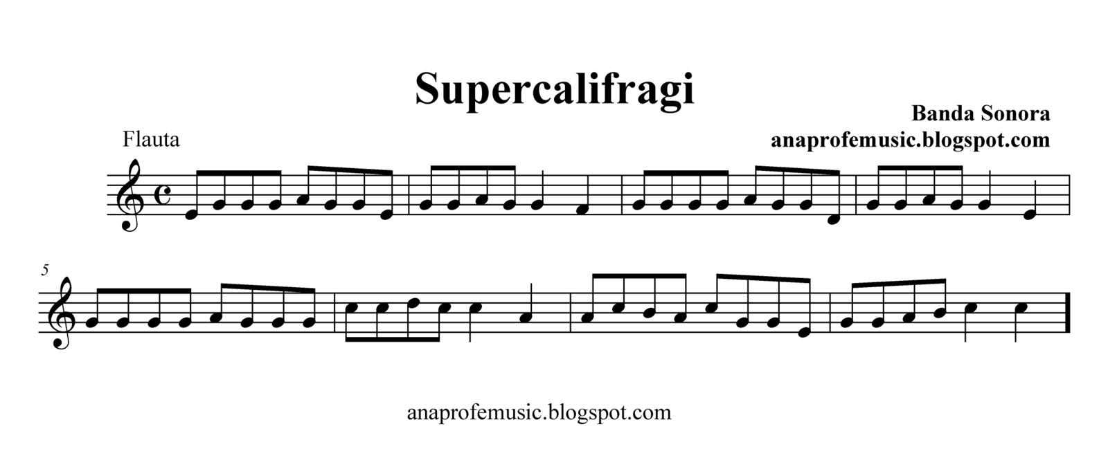 PARTITURA SUPERC...V Is For Violin