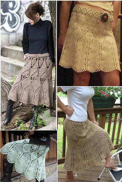 Faldas con Dibujos a Crochet Patron