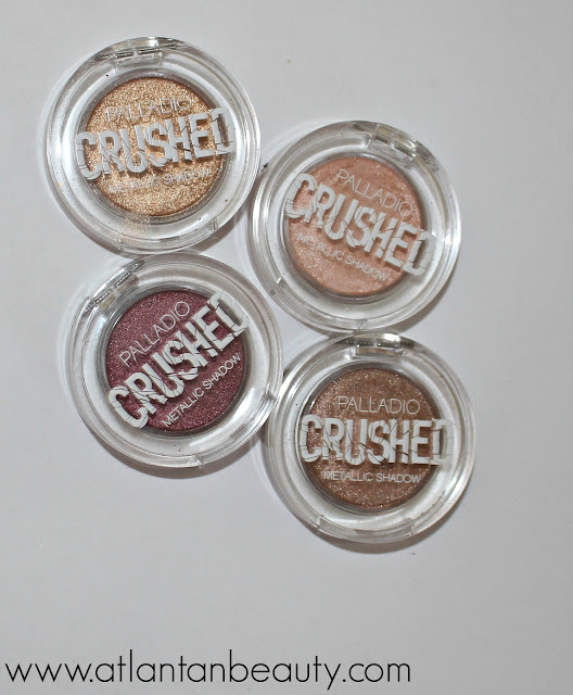 Palladio Beauty Crushed Metallic Eyeshadow