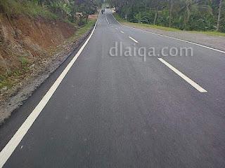 kondisi jalan dalam kondisi baik