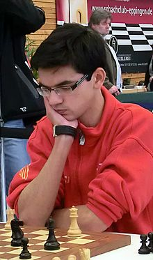 Anish Giri chess