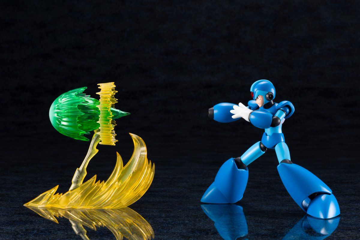 Rockman Corner: New Images of Kotobuiya Mega Man X Model Kit +
