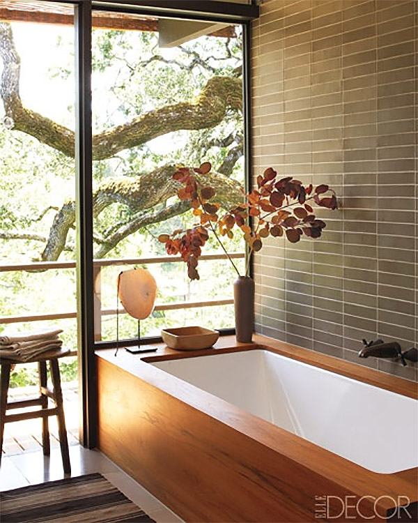 Interiors by jacquin inspiration for a zen bathroom for Asian style bathroom designs