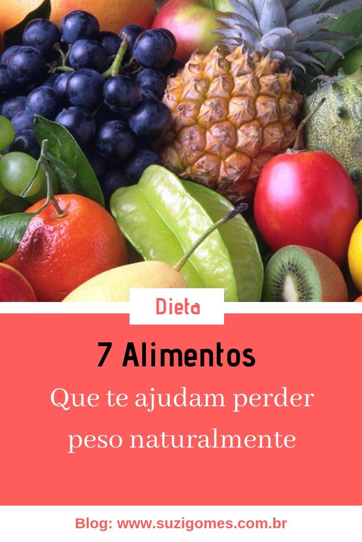 Para bajar de peso natural