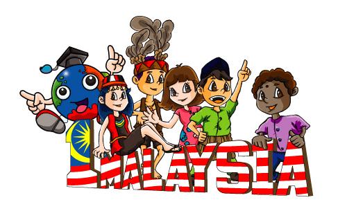 25 Trend Terbaru Gambar Kartun Pelbagai Kaum Di Malaysia Mopppy