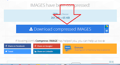 2 Cara Kompres File Gambar Online 90% Dengan Hasil Yang Sama