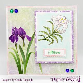Stamp Set: Miracle of Easter  Custom Dies: Scalloped Rectangles, Rectangles   Paper Collection: Spring Flowers 2019