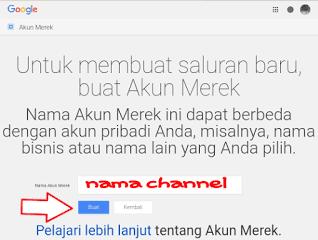 channel youtube baru